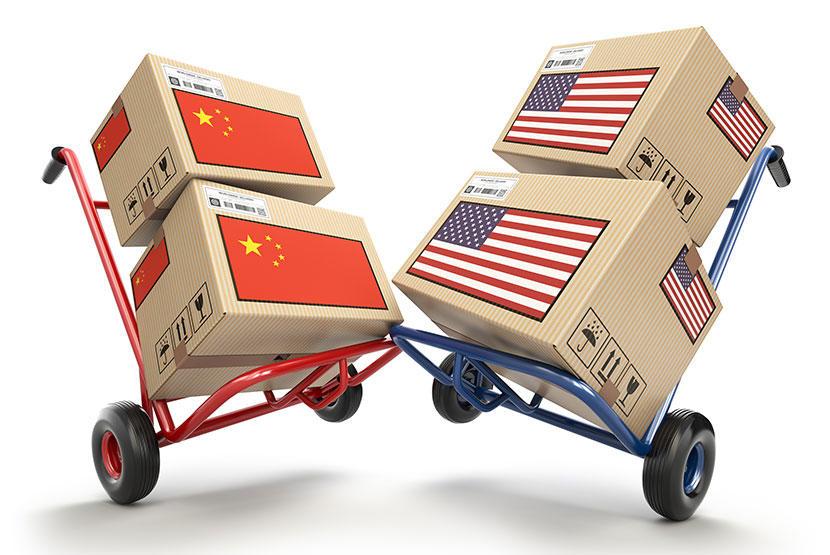 Kiina ja USA paketit